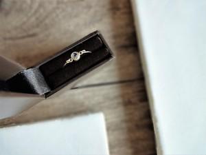 【受注生産】天然石の指輪■総14KGF■ホワイトトパーズ