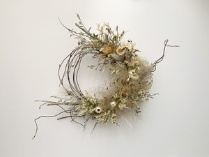 Smoke tree×little flower wreath