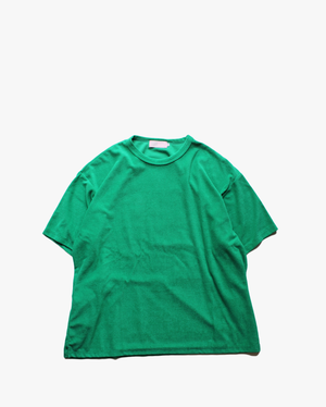 "EACHTIME. Pile T-Shirt  ""Big"" Green"