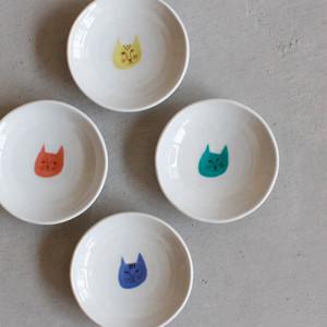 ハレクタニ ネコ豆皿 4枚セット