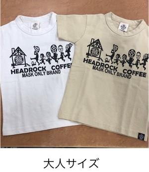 HEADROCK大人 Newファミリーカフェ編Tシャツ 920008