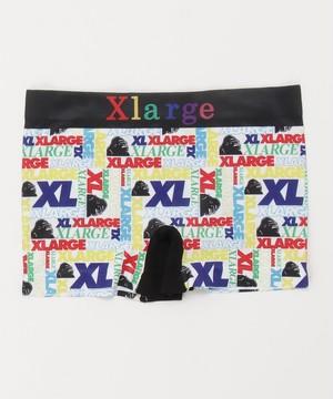 14608200 【X-LARGE/エクストララージ】成型ロゴ寄せ ボクサーパンツ アンダーウェア