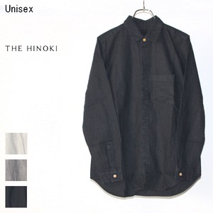 THE HINOKI ポケットワークシャツ Pocket Work Shirts TH17W-8C (NAVY)