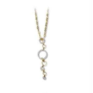 jewelG <Hoop> ペンダントヘッド K18/ダイヤモンド