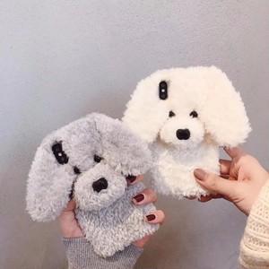 ふわふわ犬のiPhoneケース