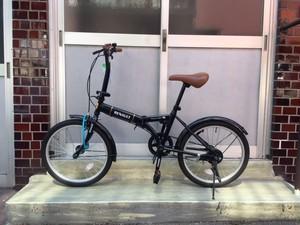 【RENAULT】折りたたみ街乗り自転車 20inch