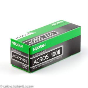 黒白 120mm ISO100 1本 フジフイルム ネオパン100 アクロスII FUJIFILM NEOPAN ACROSII (ブローニー モノクロネガフィルム)