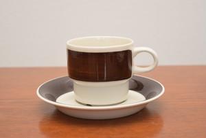 アラビアイナリコーヒーカップ&ソーサー【ARABIA/Inari】北欧 食器・雑貨 ヴィンテージ   ALKU