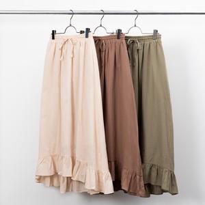 綿ローン裾切替スカート FLC50280