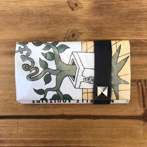 NEWSPAPER COIN CARD CASE イラスト