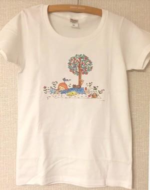 peace レディースTシャツ