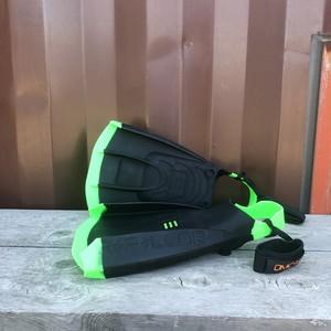 Repellor FIN リペラーフィン (ブラックxグリーン) Mサイズ