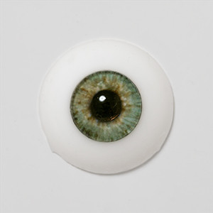 Silicone eye - 21mm Bluish Moss Green Chuck