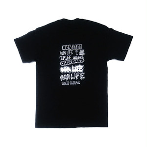 OURLIFE - LOTTIES FLYER TEE (Black)