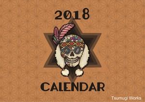 【半額セール】2018年版オリジナルカレンダー