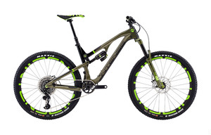 INTENSE18 RECLUSE DVO COMP SIZE SM (ENVE RSR BAR , CHRIS KING HEADSETS INSET3 MAT EMERALD)