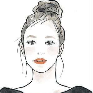 【SNSアイコン】デジタル似顔絵  イラスト Watercolor digital portrait
