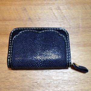 【haru leathercraft】カードケース スティングレイ