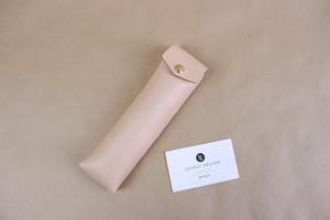 JAPAN LANSUI DESIGN 名入れ対応 ヌメ革手作り手縫い ペンケース 品番JDSFHD92JFD