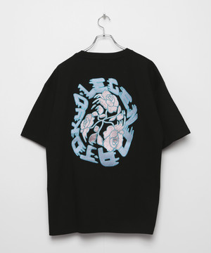 Arch Rose T-shirt [Black]