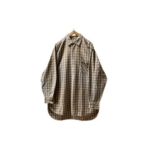 """50-60's """"EURO VINTAGE"""" GRANDPA SHIRTS WITH GUSSET"""