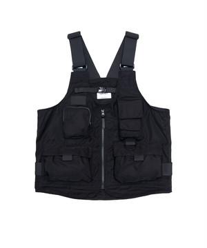 LORINZA 2Way Bag Vest Black LO-STN-VT02