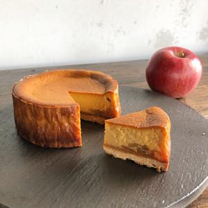 クリーミーチーズケーキ-キャラメルリンゴ-