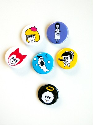 缶バッチ3個セット/ 3set of your choice! tin badge