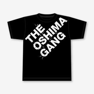 【完全限定生産/各30枚】「THE OSHIMA GANG」Tシャツ(白ロゴ)/大島渚レトロスペクティヴ