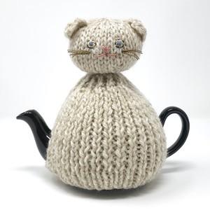 猫のティーポットカバー by hutte