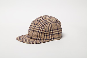 PLAID CAMP CAP