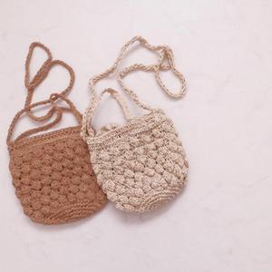〔即納〕pocopoco straw bag
