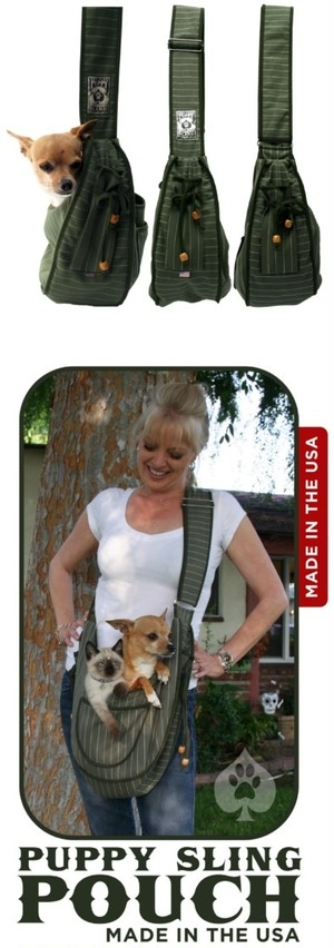 犬用品 Pet Flys Puppy Sling Pouch