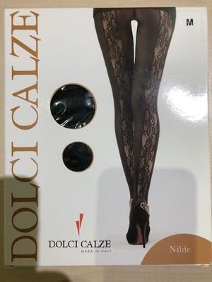 DolciCalze(ドルチカルゼ)イタリア製  05-2416 バックサイドネット パンティーストッキング