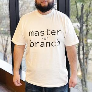 """""""Git"""" master branch Tシャツ"""