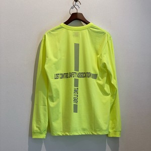 SAFTY LS TEE (NEON YELLOW) / LOST CONTROL