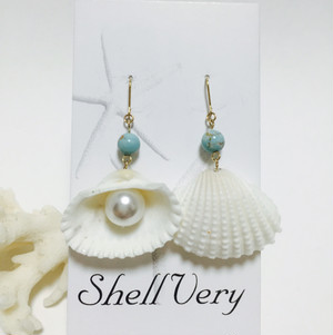 《14kgf 》seashell pierce