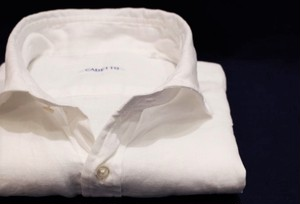 CADETTO ORIGINALS SHIRTS Herdmans Linen White