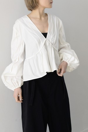 C/MEO COLLECTIVE / LIE AWAKE LONG SLEEVE TOP