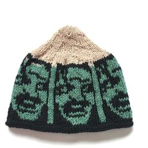 あみあみはねぽん 手編みニット帽 シャイニング