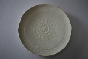 マルヤマウエア|三島平皿7寸D