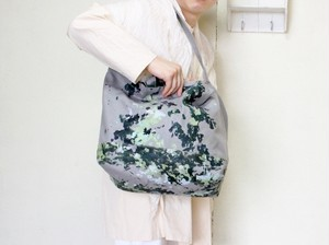 MM×iwaseyuka PAINT TOTE c/#gray