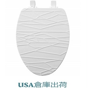 BestonStyle デザイン木製便座 大型サイズ
