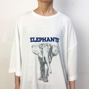 2-211-817 ELEPHANT [WH X BLUE]