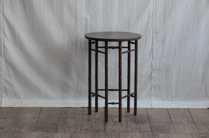 Baker Mahogany Side Round Table