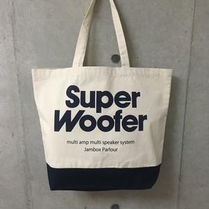 """JBP ORIGINAL """" SUPER WOOFER TOTE BAG """" (NAVY)"""