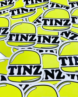 TIN'z BURGER MARKET Original Sticker