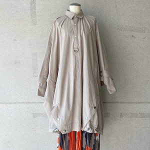 【mintdesigns】SHIRT PONCHO(LADIES)/37202-HC3CS06