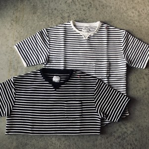 NATIC MARINE【Rope Border Tee】