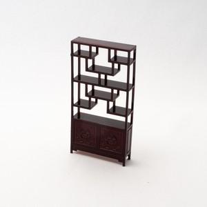中国風ミニチュア家具/博古架(2)(樹脂製)